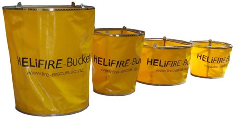 HELiFIRE Bucket Sizes